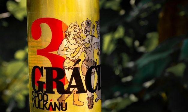 3 GRÁCIE. 3 vinohrady. 3 vinárstva. 1 víno