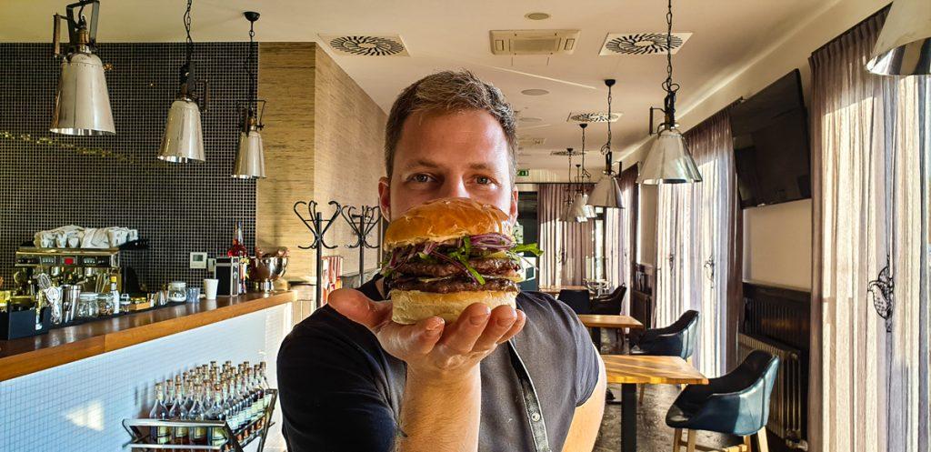 Peter Slačka a Hamburger Bambino 2.0