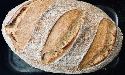 Kváskový chlieb spod vody